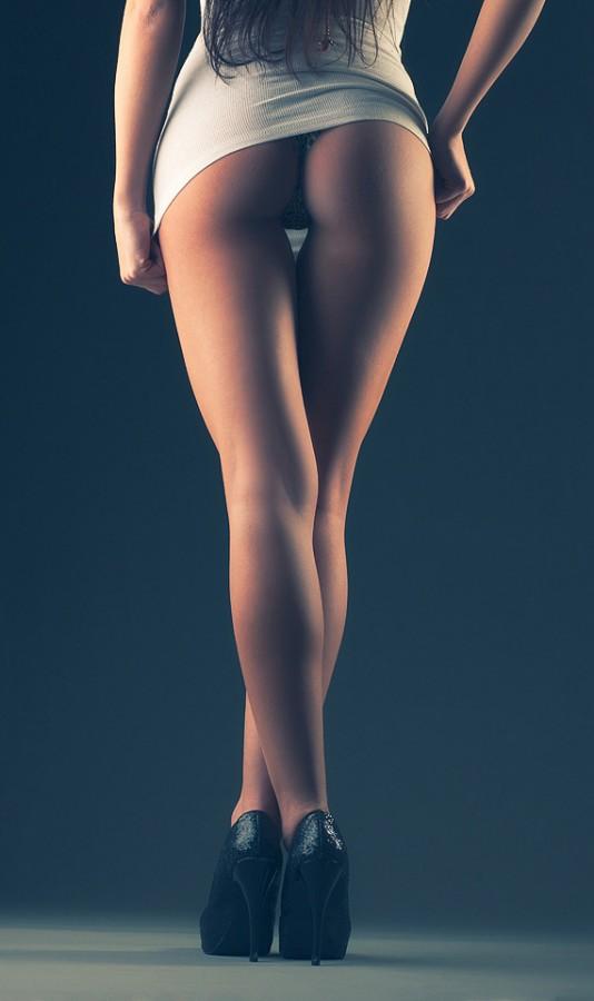 Sexy butt shot boudoir photography